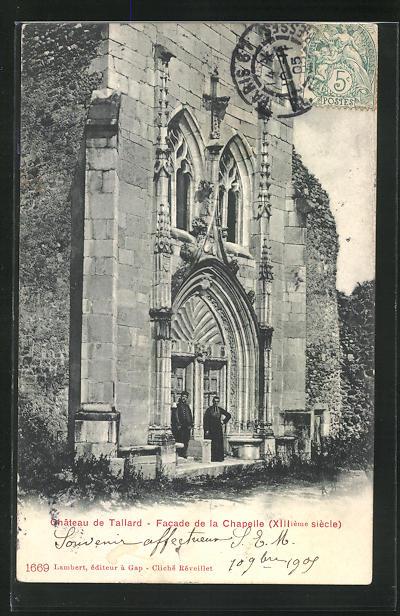 AK Tallard, Chateau de Tallard, Facade de la Chapelle