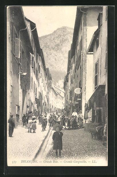AK Briancon, Grande Rue, Grande Gargouille