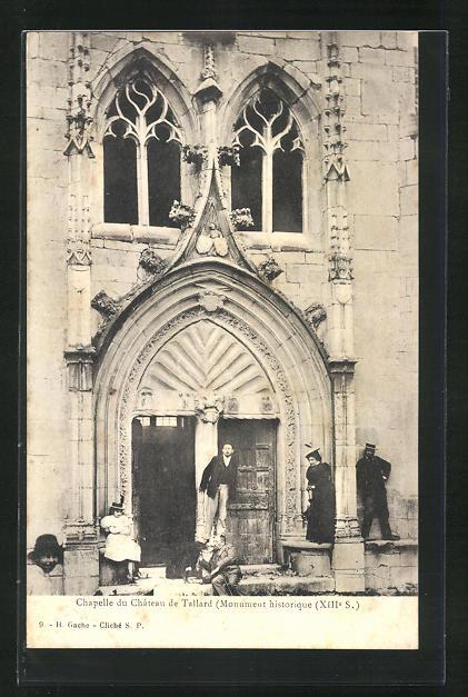 AK Tallard, Chapelle du Chateau