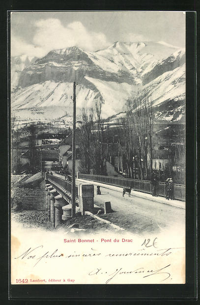 AK Saint-Bonnet, Pont du Drac