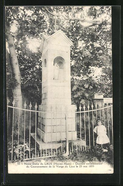 AK Notre-Dame-du-Laus, Oratoire commemoratif du Couronnement de la Vierge du Laus