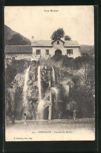 AK Remollon, Cascade du Moulin