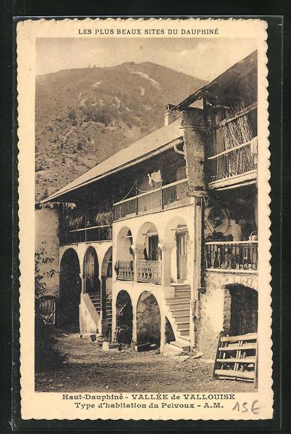 AK Vallouise, Type d'habitation du Pelvoux