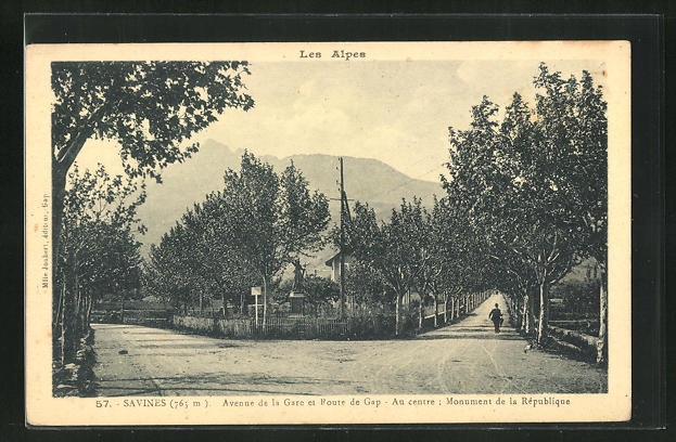 AK Savines, Avenue de la Gare et Route de Gap