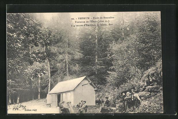 AK Embrun, Fontaine de l'Ours