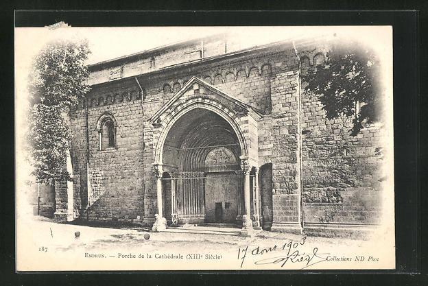 AK Embrun, Porche de la Cathedrale