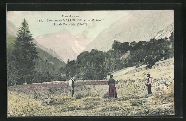 AK Vallouise, La Moisson, Pic de Bonvoisin