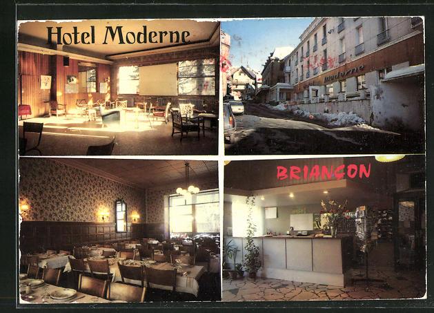 AK Briancon, Hotel Moderne