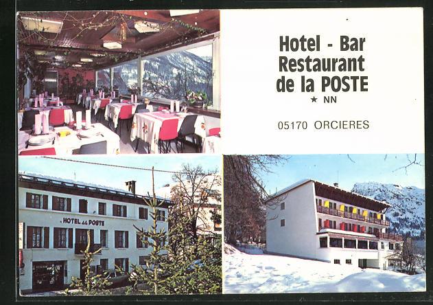 AK Orcieres, Hotel-Restaurant de la Poste