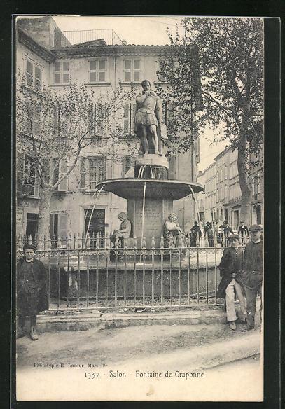 AK Salon, Fontaine de Craponne