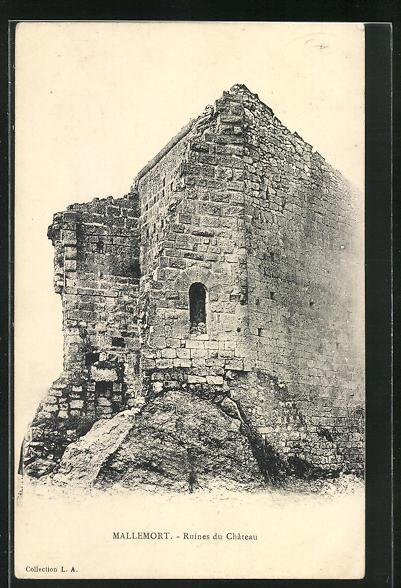 AK Mallemort, Ruines du Chateau