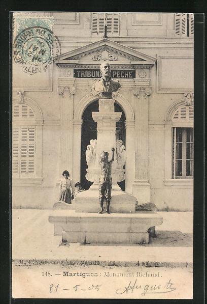AK Martigues, Monument Richaud