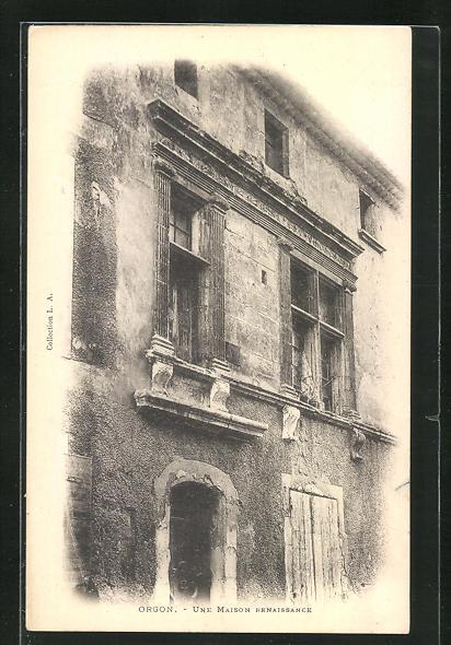 AK Orgon, Une Maison Renaissance
