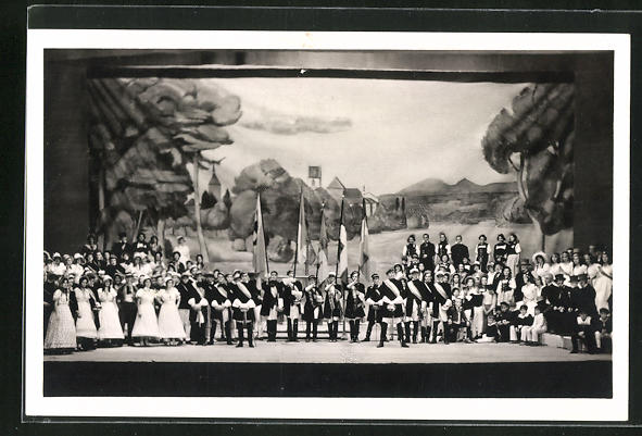 AK Aarau, Eidg. Jubiläums-Turnfest 1932, Szene aus dem 2. Akt