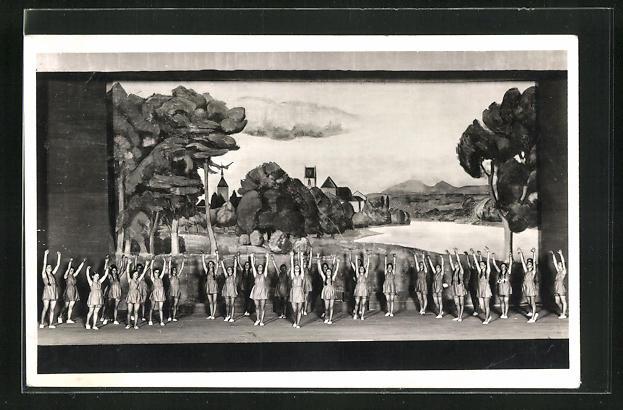 AK Aarau, Eidg. Jubiläums-Turnfest 1932, Reigen aus dem 3. Akt