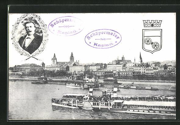 AK Mainz, 58. Generalversammlung der Katholiken Deutschlands 1911, Kaplan Schäpermeier