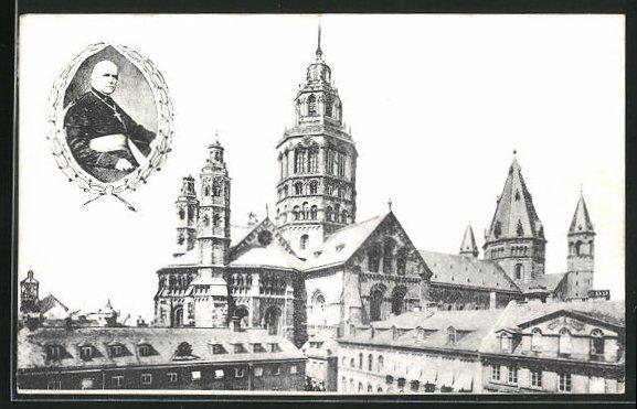 AK Mainz, 58. Generalversammlung der Katholiken Deutschlands 1911, Kirche