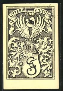 AK Litteris et Amicitae 1874, Studentenwappen