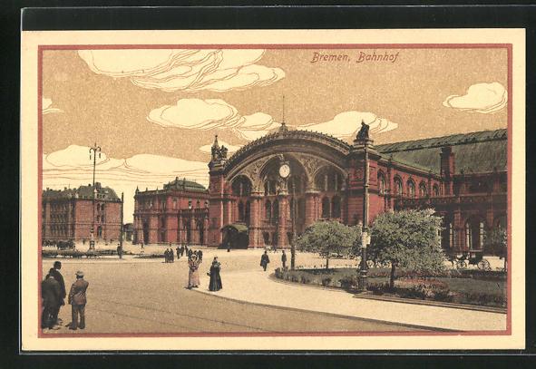 AK Bremen, Hauptbahnhof