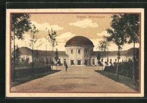AK Crefeld, Krematorium