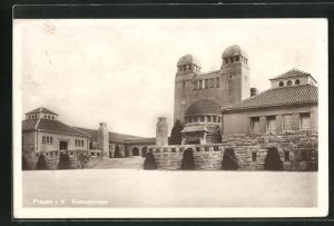 AK Plauen i. V., Krematorium