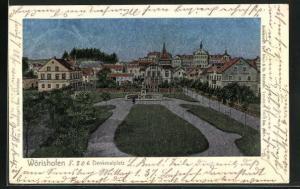 Luna-AK Wörishofen, Denkmalplatz