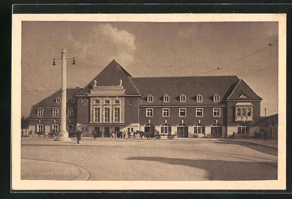 AK Frankfurt a. d. Oder, Bahnhof