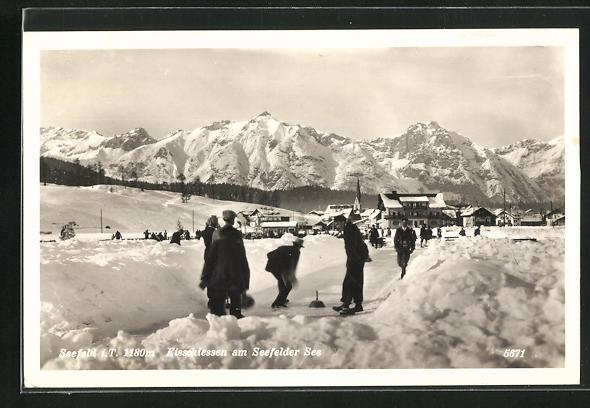 AK Eisstockschiessen am Seefelder See