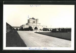 AK Wien, Krematorium auf dem Zentralfriedhof