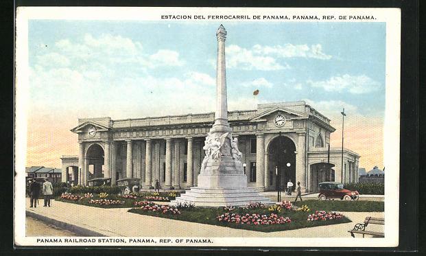 AK Panama, Estacion del Ferrocarril de Panama