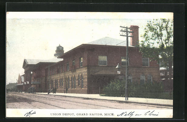 AK Grand Rapids, MI, Union Depot, Before the Railway Station