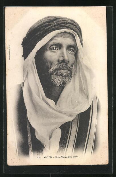 AK Alger, Portrait Bou-Alem-Ben-Siam