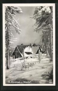 AK Heufuderbaude im Winter