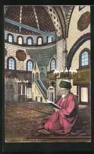 AK Betender Türke in der Moschee