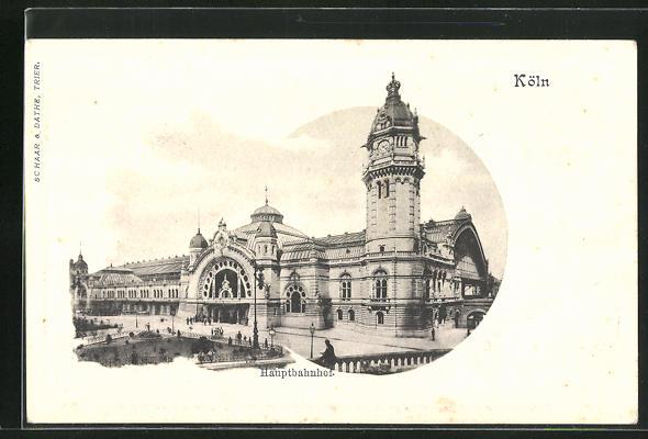 AK Köln, Hauptbahnhof