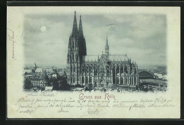 AK Köln, Der Kölner Dom