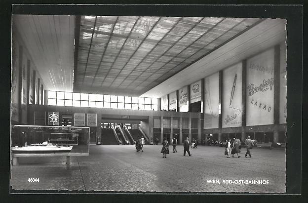 AK Wien, Süd-Ost-Bahnhof