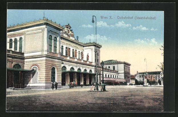 AK Wien, Ostbahnhof (Staatsbahnhof)