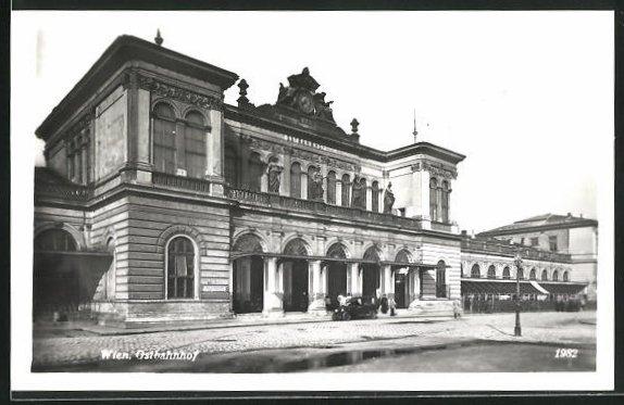 AK Wien, Partie am Ostbahnhof