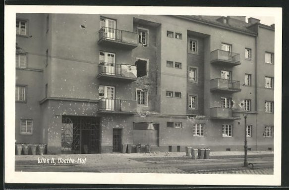 AK Wien, Februarkämpfe 1934, Goethe-Hof