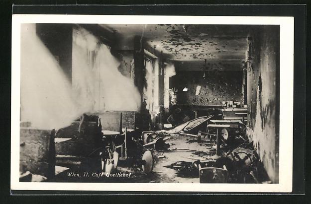 AK Wien, Februarkämpfe 1934, Goethehof