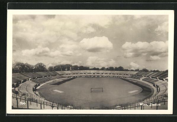 AK Wien, Blick über das Stadion