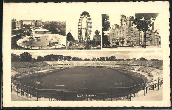 AK Wien, Stadion, Herderpark, Amalienbad