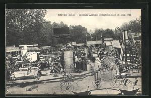 AK Troyes, Concours Agricole et Horticole des 3 et 4 Juin 1922, Ausstellungsgelände