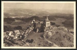 AK Hersbruck, Burg Hohenstein, Reichswinterhilfe-Lotterie 1934 /35, Ganzsache 6 Pf.
