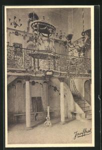 AK Cavaillon, Interieur de la Synagoge