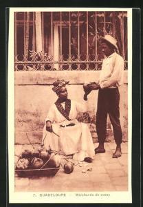 AK Guadeloupe, Marchande de Cocos