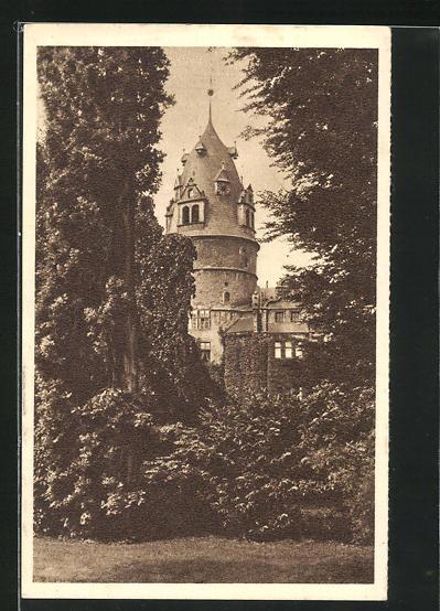 AK Detmold, Schloss, Ganzsache WHW Winterhilfswerk