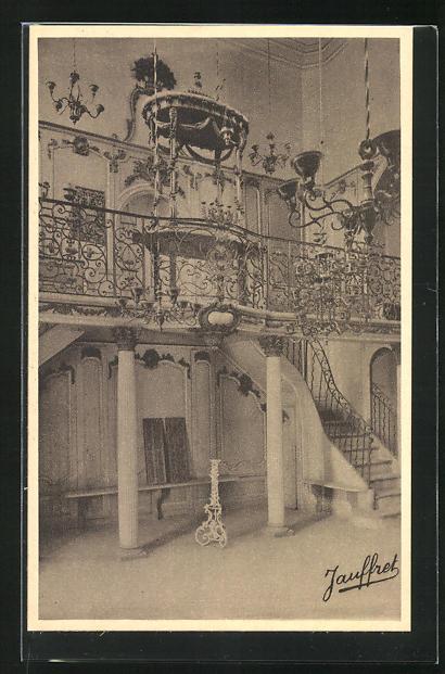 AK Cavaillon, Intérieur de la Synagogue, Innenansicht der Synagoge