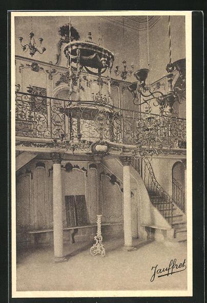 AK Cavaillon, Intérieur de la Synagogue, Innenansicht der Synagoge, Inside of the Synagogue